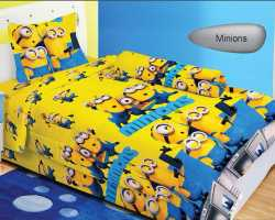 Grosir Sprei LADY ROSE SINGLE - Sprei Dan Bed Cover Lady Rose Single Minions