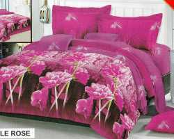 Grosir Sprei RED ROSE - Grosir Sprei Redrose Purple Rose