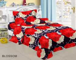 Grosir Sprei RED ROSE - Grosir Koleksi Sprei Redrose Motif Blossom Single