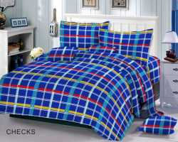 Grosir Sprei RED ROSE - Grosir Koleksi Sprei Redrose Motif Checks